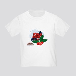 holiday spider-man christmas Toddler T-Shirt
