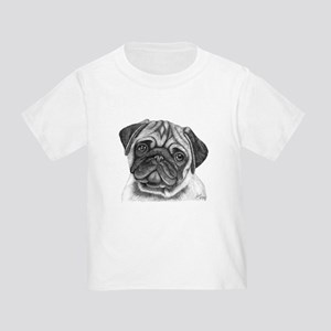 Pug Toddler T-Shirt