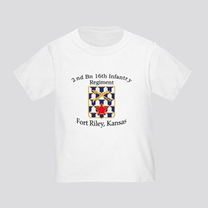2nd Bn 16th Infantry Toddler T-Shirt