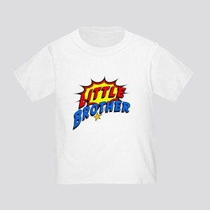 Little Brother Superhero Toddler T-Shirt