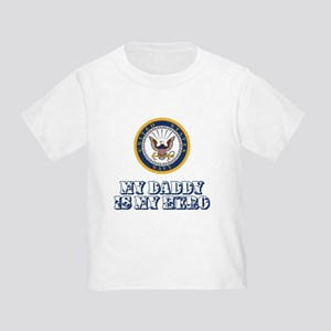 U.S. Navy My Daddy Is My Hero Toddler T-Shirt