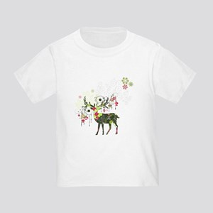 Abstract Decorated Christmas El T-Shirt