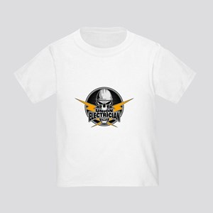 Union Electrician Skull T-Shirt
