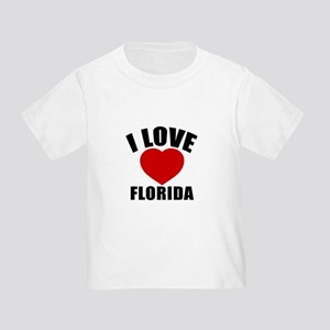 I Love Florida Toddler T-Shirt