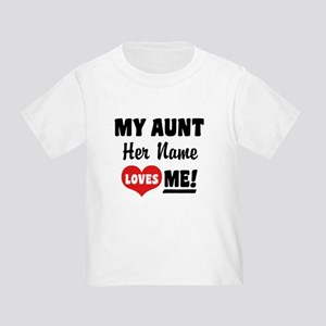 I Love My Aunt Gifts Cafepress