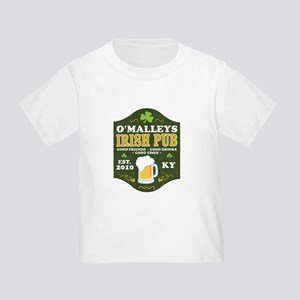 Irish Pub Personalized Toddler T-Shirt