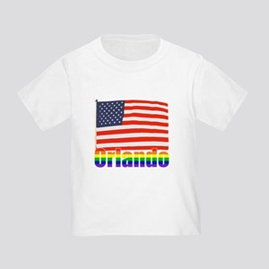 Orlando Rainbow Toddler T-Shirt
