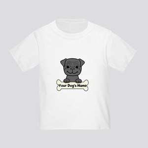 Personalized Pug Toddler T-Shirt