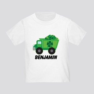 Personalized St Patricks Day Irish Truck T-Shirt