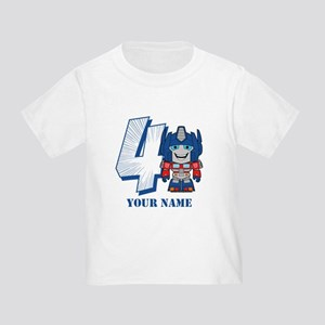 Transformers 4 Optimus Prime Perso Toddler T-Shirt