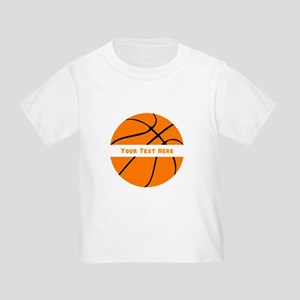 Basketball Personalized Toddler T-Shirt