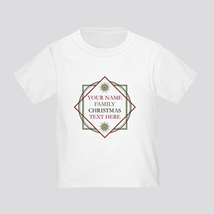 Family Christmas Personalized Toddler T-Shirt