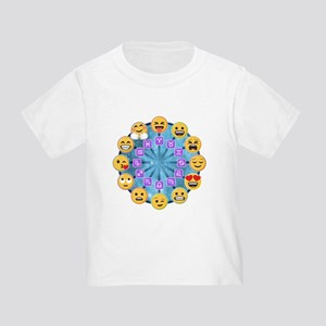 Emoji Circle Horoscopes Toddler T-Shirt