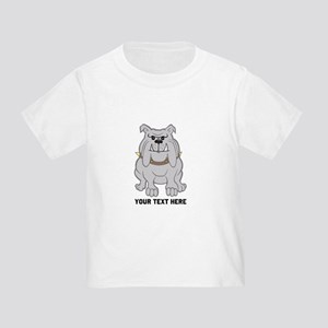 Bulldog personalized Toddler T-Shirt