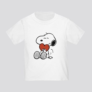 Snoopy Hugs Heart Toddler T-Shirt