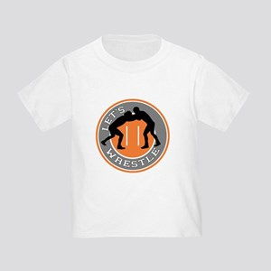 Let's Wrestle Toddler T-Shirt