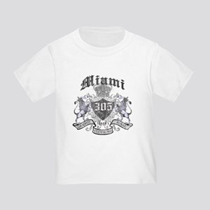 """MIAMI 305 LION CREST"" Toddler T-Shirt"