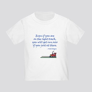 Don't Sit There Toddler T-Shirt