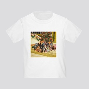 A Dachshund Family Christmas Toddler T-Shir