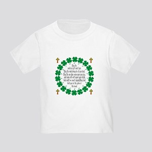 Irish Prayer Blessing Toddler T-Shirt