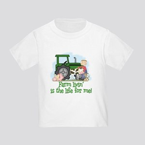 Farm Livin' (Boy) Toddler T-Shirt