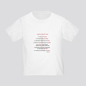 Property Laws Toddler Tee