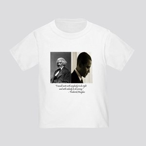Douglass-Obama Toddler T-Shirt