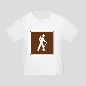 Hiking Trail Sign Toddler T-Shirt