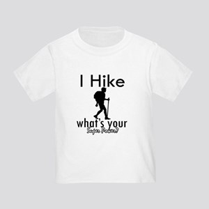 I Hike Toddler T-Shirt