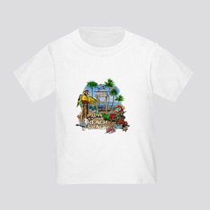 Parrots Beach Party Toddler T-Shirt