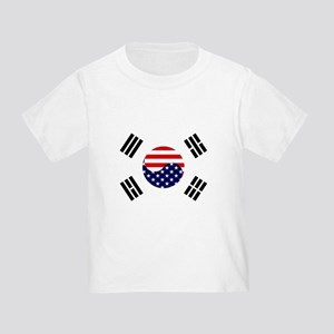 Korean-American Flag Toddler T-Shirt