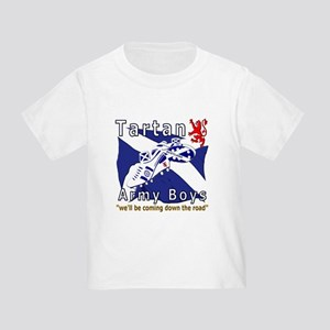 Tartan Army Boys Coming Toddler T-Shirt