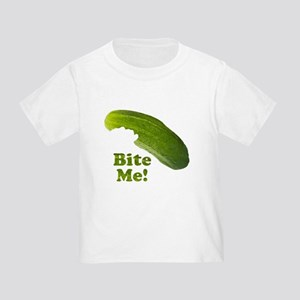 Bite Me! Pickle Toddler T-Shirt