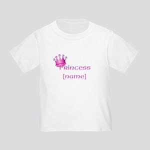 Personlized Princess Toddler T-Shirt