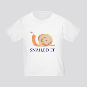 Snailed It Toddler T-Shirt