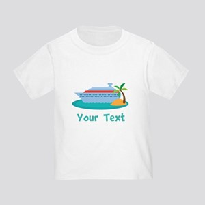 Personalized Cruise Ship Toddler T-Shirt