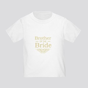Brother of the Bride gold T-Shirt