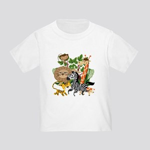 Animal Safari Toddler T-Shirt