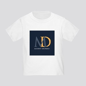 Elegant Custom Monogram Toddler T-Shirt