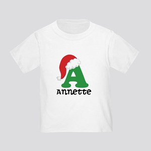 Christmas Personalized Santa Hat T-Shirt