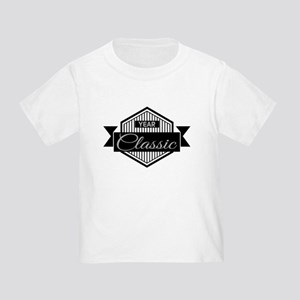 Personalized Birthday Classic Toddler T-Shirt