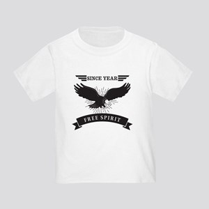 Personalized Birthday Eagle Spirit Toddler T-Shirt