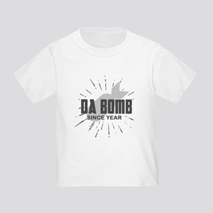 Personalized Birthday The Da Bomb Toddler T-Shirt