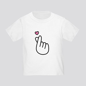 Finger Heart Sign T-Shirt