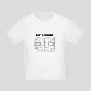 Basketball House Toddler T-Shirt