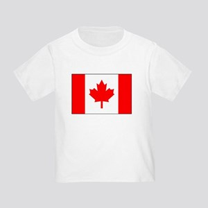 Flag of Canada 1 Toddler T-Shirt