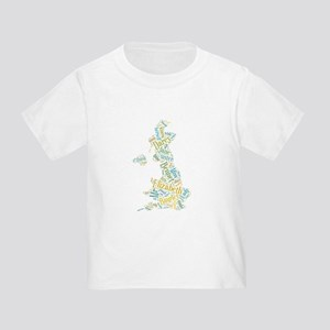 Pride and Prejudice Map T-Shirt
