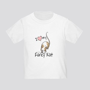 b16c5104 I Love My Fancy Rat Toddler T-Shirt