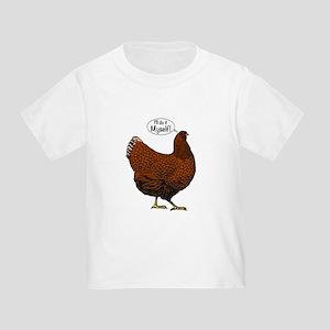 30e852a6 Little Red Hen Toddler T-Shirts - CafePress