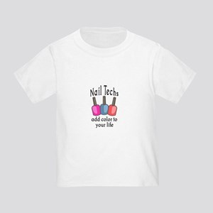 96c52465 Nail Tech Toddler T-Shirts - CafePress